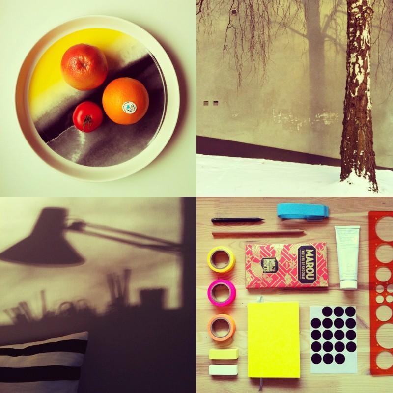 Höst och vinter på Instagram